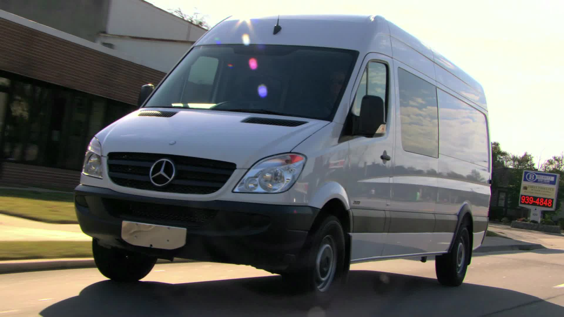 e268258b17 2012 Mercedes-Benz Sprinter Crew Van