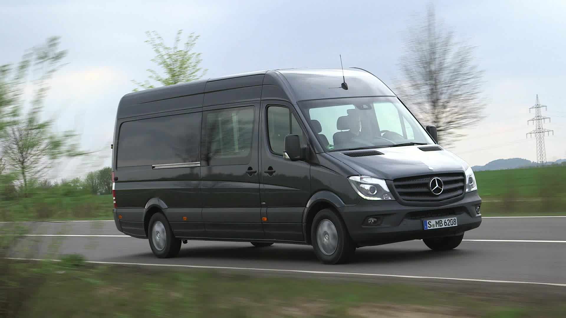 4ee2f3ce6c The new 2014MY Sprinter Van